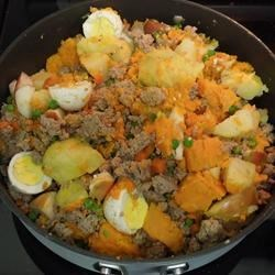 Turkey and Sweet Potatoes (allergy proof homemade dogfood)