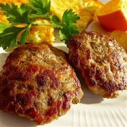 Turkey Breakfast Sausage Recipe - Turn plain ground turkey into flavorful sausage just by adding a bit of brown sugar, sage, thyme, marjoram, and red pepper flakes.