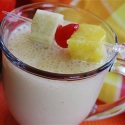 Yummy Mango-Banana Milkshake