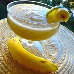Fresh Banana Daiquiri