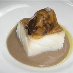 Setas al Crema con Bacalao - Boletus Wild Mushrooms with Cod