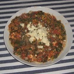 Flash-blasted Broccoli and Feta Pasta