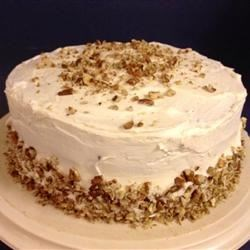 Hummingbird Cake IV Recipe - This won a Blue Ribbon at a County Fair. Frost with cream cheese icing, the tangy frosting brings out the blend of fruits and nuts in the cake.