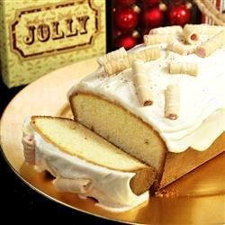 Eggnog Cake Recipe - Enjoy the rich taste of eggnog in an easy to make pound cake.