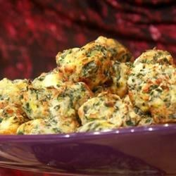 Spinach Artichoke & Cheese Bites