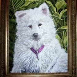 """Commission painting of """"Izzy"""""""