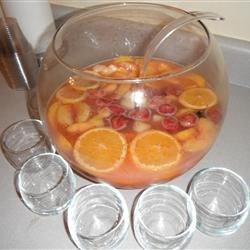 Christmas Punch Recipe - Delicious punch! Great for holidays, showers, parties! Make extra!