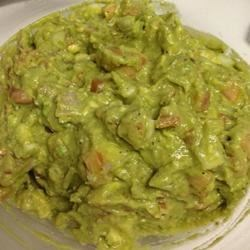 Fresh Guacamole Recipe - This guacamole is fresh, green, and a little zesty.