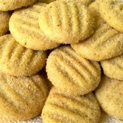 Divinity Cookies Recipe - An easy to make,  delicate cookie...nice for wedding receptions.