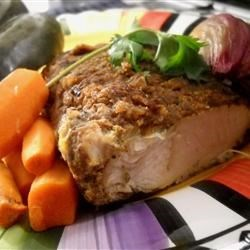 Tunisian Slow-Cooked Turkey Breast