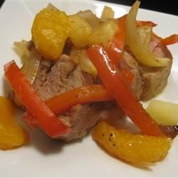 Hawaiian Pork Tenderloin