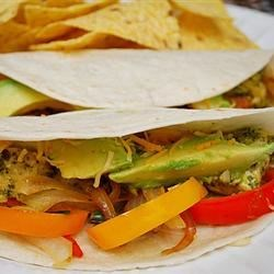 Cilantro Lime Chicken Tacos - Make ahead and Freeze!