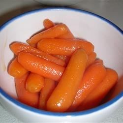 Vanilla Glazed Carrots