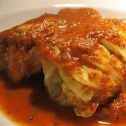 Grandma Seech's Stuffed Cabbage