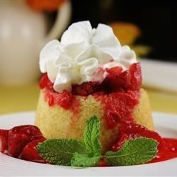 Hot Milk Sponge Cake I Recipe - This easy sponge cake is finished with a Broiled Coconut Topping.