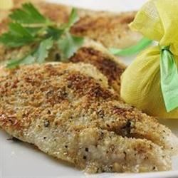 Baked Orange Roughy Italian-Style Recipe - The flavor of this delicate fish is enhanced with Italian-style seasonings that are sure to please even the pickiest eater. Quick, easy, and simply delicious.