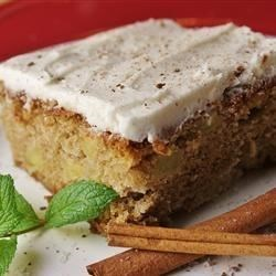 Spicy Apple Cake Recipe - A spicy cake made with fresh apples. A wonderful treat for the harvest season.