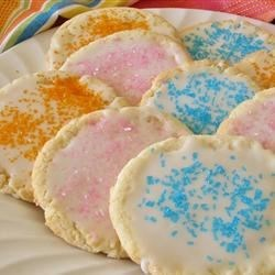 Amazing Sugar Cookies Recipe - Perfect for parties or lunchtime treats, these simple and sweet sugar cookies can be decorated or served as is.