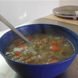 $2/day Diet - Lentil Stew