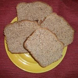 Honey and Flaxseed Bread Recipe - This is a very nutritious whole wheat bread with flax oil and seeds, lecithin, gluten and whey.  Honey lends sweet overtones to this bread machine loaf.