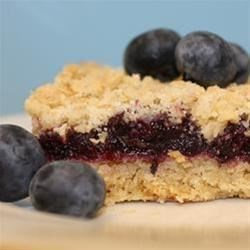 Blueberry Oat Bars