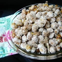 Sugar Peanuts Recipe - My parents used to make this easy 3-ingredient snack for football parties. They are great to munch on and everyone loves them.