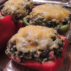 Black Bean Stuffed Peppers
