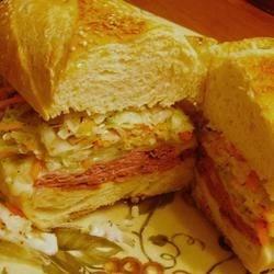 *Sherri*'s~Grilled Pastrami and Swiss Sandwich