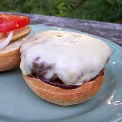 Hubby loved these flavorful grilled burgers.