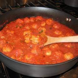 Italian Turkey Meatballs (In Rao's Marinara)