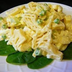 Lower Fat Amish Macaroni Salad ~ Recipe Group Selection:  05, January 2013