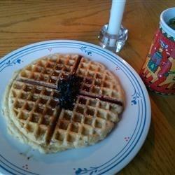 Whole Wheat Oat Waffles