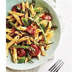Tomato and Asparagus Carbonara