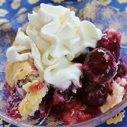 Recipe cherry cobbler easy
