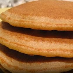 Gluten-Free Banana Flax Pancakes Recipe - Mix up the batter for these banana pancakes in your blender, then pour out the pancakes on a hot griddle or frying pan for quick pancakes and easy clean up.