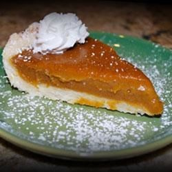 Pumpkin Pie from So Delicious(R) Recipe - Lots of spices and coconut milk make a creamy and delicious dairy-free pumpkin pie.