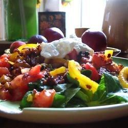 Hot Chorizo Salad
