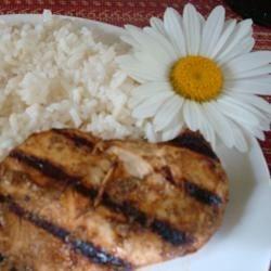 Tandoori Chicken and Brazilian White Rice