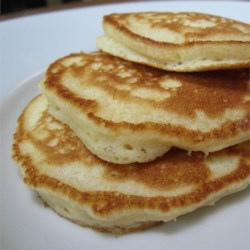 Alaskan sourdough pancakes