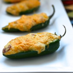 Jalapeño Poppers with Corn, Bacon and Cheese