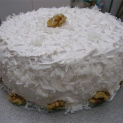 Hummingbird Cake III Recipe - A tropical tasting cake, it is the next best thing to a tropical vacation in the middle of winter. Also known as a Bumblebee Cake.