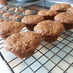 Guilt Free Apple Bran Muffins