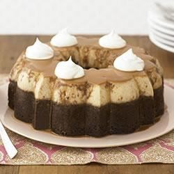 ChocoFlan Recipe - 'Awesome' and 'genius' are used to describe our deceptively easy caramel-chocolate showstopper.
