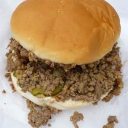 Garlic & Onion Burger/Loosemeat Sandwich
