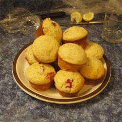 Cranberry Oatmeal and Yogurt Muffins