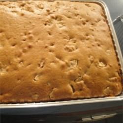 Honeyed Apple Cake