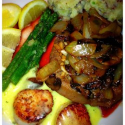 Sirloin Oscar Dinner