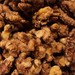 Dawn's Candied Walnuts Recipe - These walnuts are a special treat for Christmas, and are well worth the time it takes to make them.
