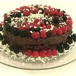 Deep Chocolate Raspberry Cake Photos - Allrecipes.com