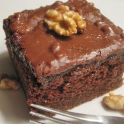 Coco-Cola Cake II Recipe - Chocolate cake with cola soda and a rich pecan frosting.